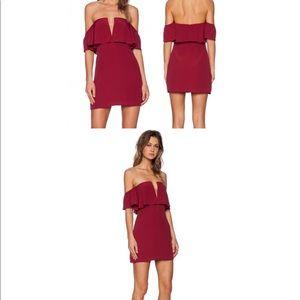 lovers + friends primrose mini dress